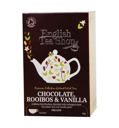 TE ROOIBOS CHOCO VAINILLA BIO de English Tea Shop