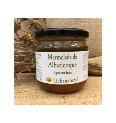 MERMELADA DE ALBARICOQUE 100% ARTESANA