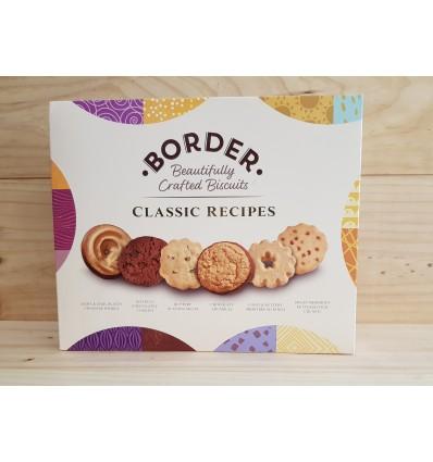 BORDER BISCUITS Surtido de galletas receta clásica estuche 400 g