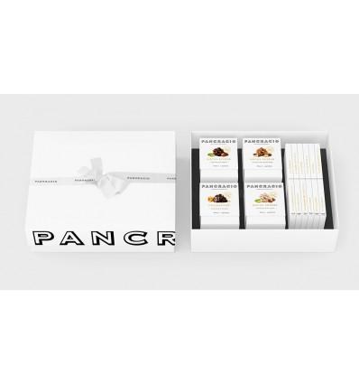 Pancracio Caja Regalo XL B Chocolate para regalar. 4 rocas suizas y 12 tabletas