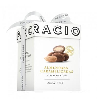 Pancracio Almendras caramelizadas cubiertas de chocolate negro