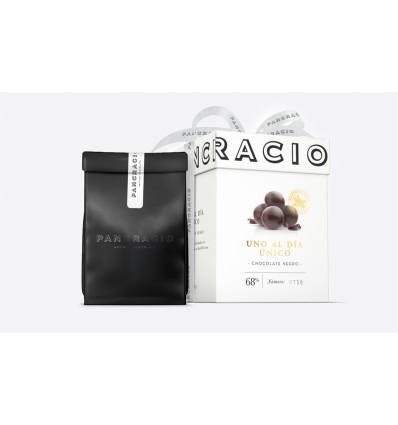 """Pancracio Chocolate negro Uno al Día """"Unico"""" · Bolas de chocolate"""