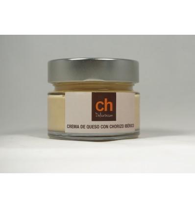 Crema ch Delicatessen de queso con Chorizo Iberico gourmet