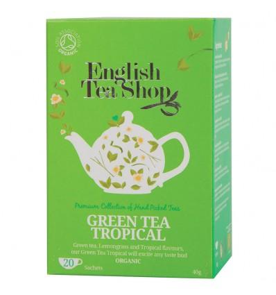TE VERDE FRUTAS TROPICALES de English Tea Shop