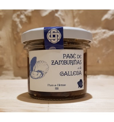 Pate de Zamburiñaas a la Gallega