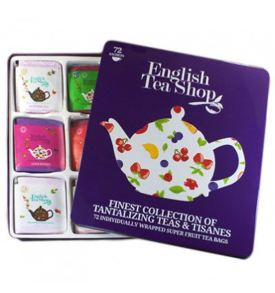 English Tea Shop -72 bolsitas Super Fruit Collection - 120g