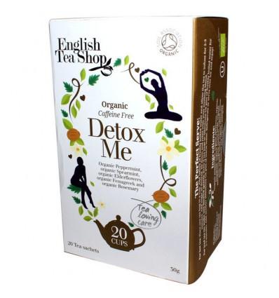 English Tea Shop Organic Detox Me Tea - 20 Tea Sachets - 30g