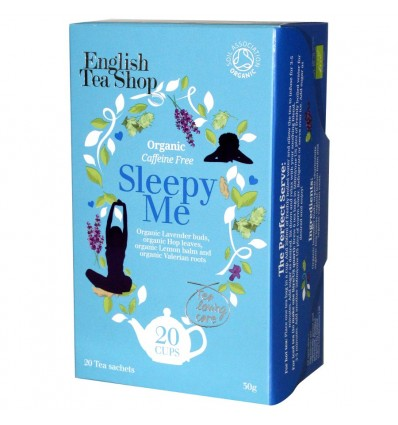 English Tea Shop Organic Sleepy Me Tea Tea - 20 Tea Sachets - 30g